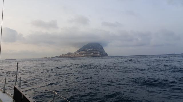 arrival in Gibraltar