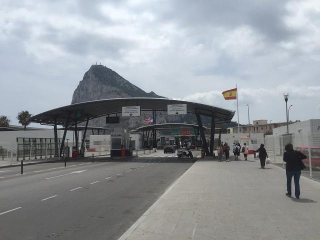border-Gibraltar Spain