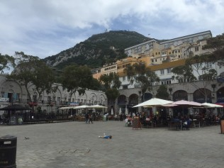 Casement Square on the rock of Gibraltar