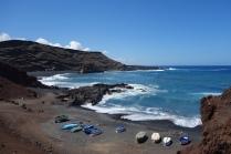 Lanzarote's rugged coastline