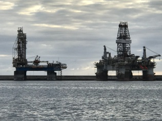 Las Palmas Gran Canaria - home for El Capitano during the oil drilling phase