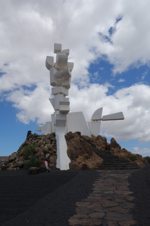 Monument to Fertility central Lanzarote