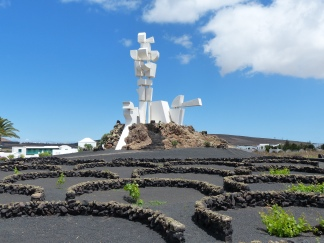 Monument to Fertility Lanzarote in nthe heart of the island