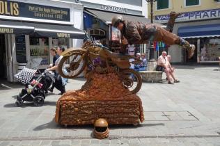 Street art Gibraltar - Casement Square