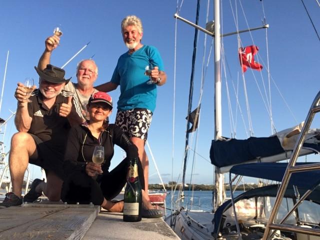 Arrival in Bermuda - Cheers